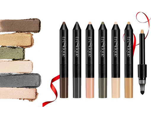 Shadow crayon set luxe bag